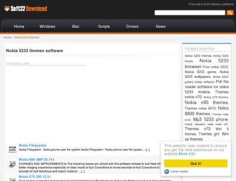 nokia-5233-themes.win.soft32download.com screenshot
