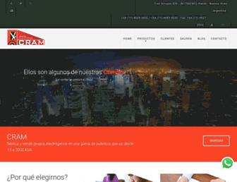 cramelectro.com screenshot