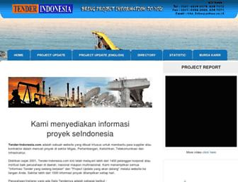 tender-indonesia.com screenshot