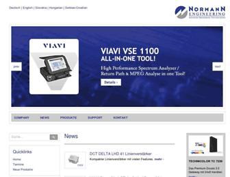 normann-engineering.com screenshot