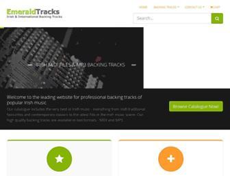 emeraldtracks.com screenshot