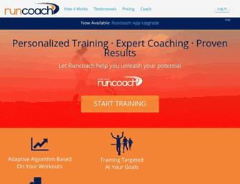 runcoach.com screenshot