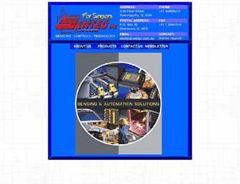 sentec.com.au screenshot