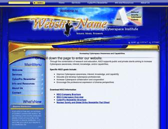 Main page screenshot of nsci-va.org