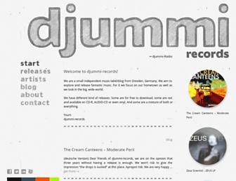 djummi-records.de screenshot