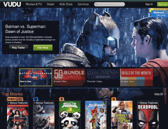 vudu.com screenshot