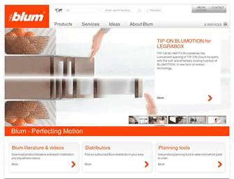blum.com screenshot
