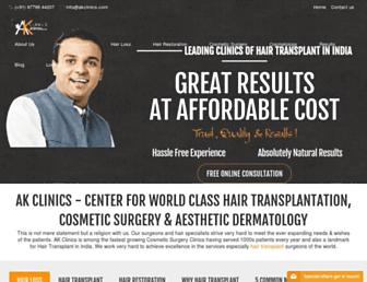 akclinics.org screenshot