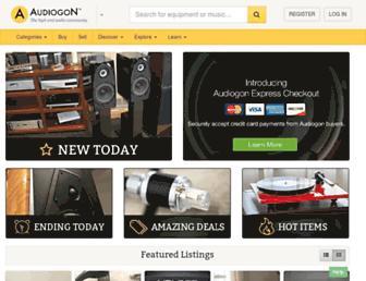 Thumbshot of Audiogon.com