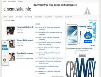 downloadmp3songs4u.blogspot.com screenshot