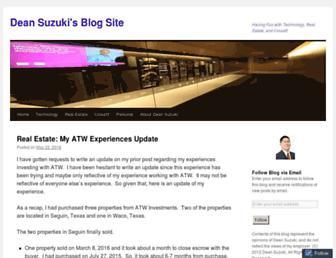 deansuzuki.net screenshot