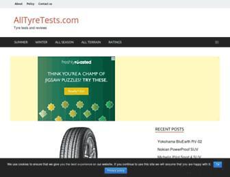 alltyretests.com screenshot