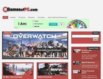 gamesofpc.com screenshot