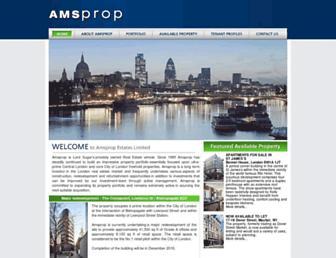 amsprop.com screenshot