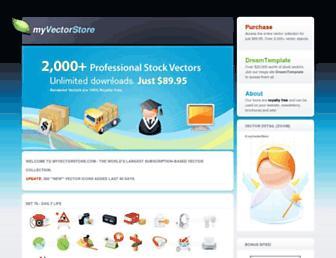 Thumbshot of Myvectorstore.com