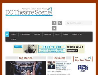 dctheatrescene.com screenshot