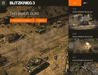 en.blitzkrieg.com screenshot