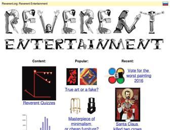 Thumbshot of Reverent.org