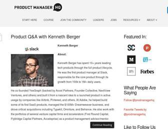 productmanagerhq.com screenshot