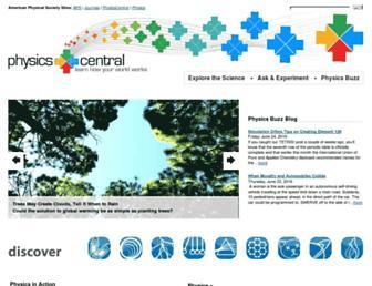 physicscentral.com screenshot