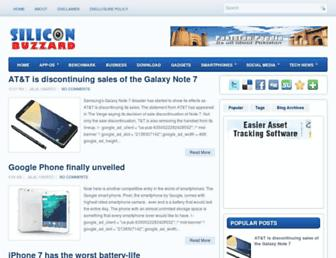 siliconbuzzard.com screenshot