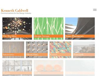 kennethcaldwell.com screenshot