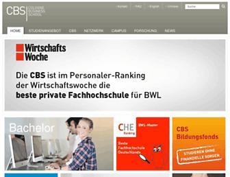 cbs.de screenshot