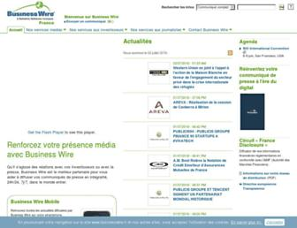 Thumbshot of Businesswire.fr