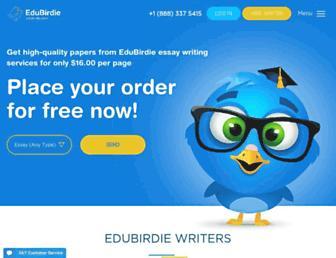 edubirdie.com screenshot