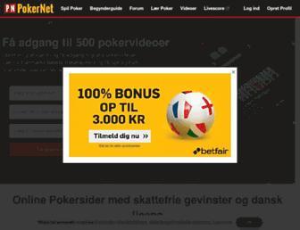 Thumbshot of Pokernet.dk