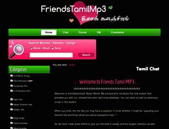 Thumbshot of Friendstamilmp3.com