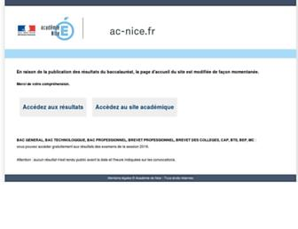 ac-nice.fr screenshot