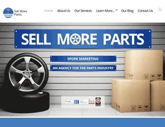 sporkmarketing.com screenshot