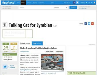 talking-cat.en.softonic.com screenshot