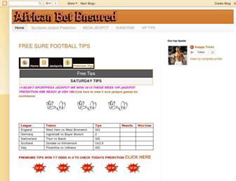 africanbets.blogspot.com screenshot