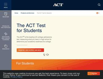 Thumbshot of Actstudent.org