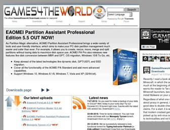 games4theworld.org screenshot