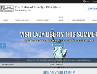 Thumbshot of Libertyellisfoundation.org