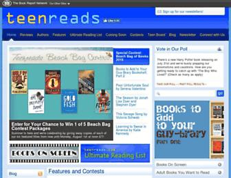 teenreads.com screenshot