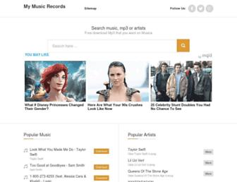 maymusicrecords.com screenshot