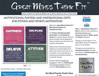 greatmindsthinkfit.com screenshot