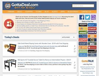 Thumbshot of Gottadeal.com