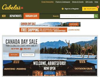 Thumbshot of Cabelas.ca