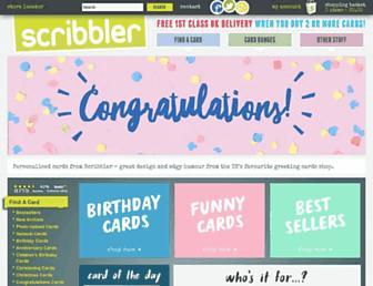 scribbler.com screenshot
