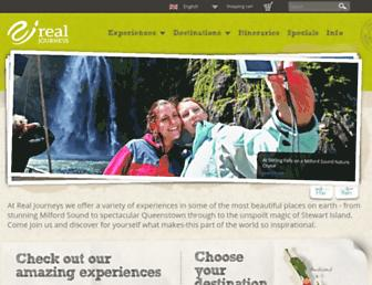 realjourneys.co.nz screenshot