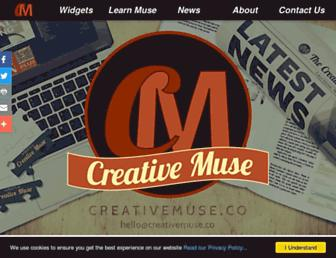 creativemuse.co screenshot