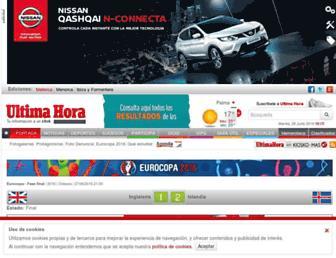 ultimahora.es screenshot