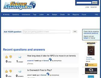 gameshampoo.com screenshot