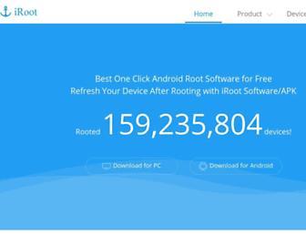 iroot.com screenshot