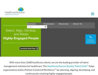 Thumbshot of Healthcaresource.com